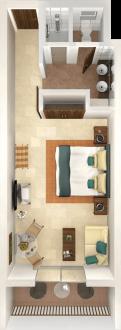 Resorts que hospedan las propiedades